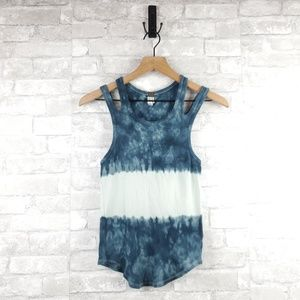 We the Free tie dye cold shoulder tank | Size S